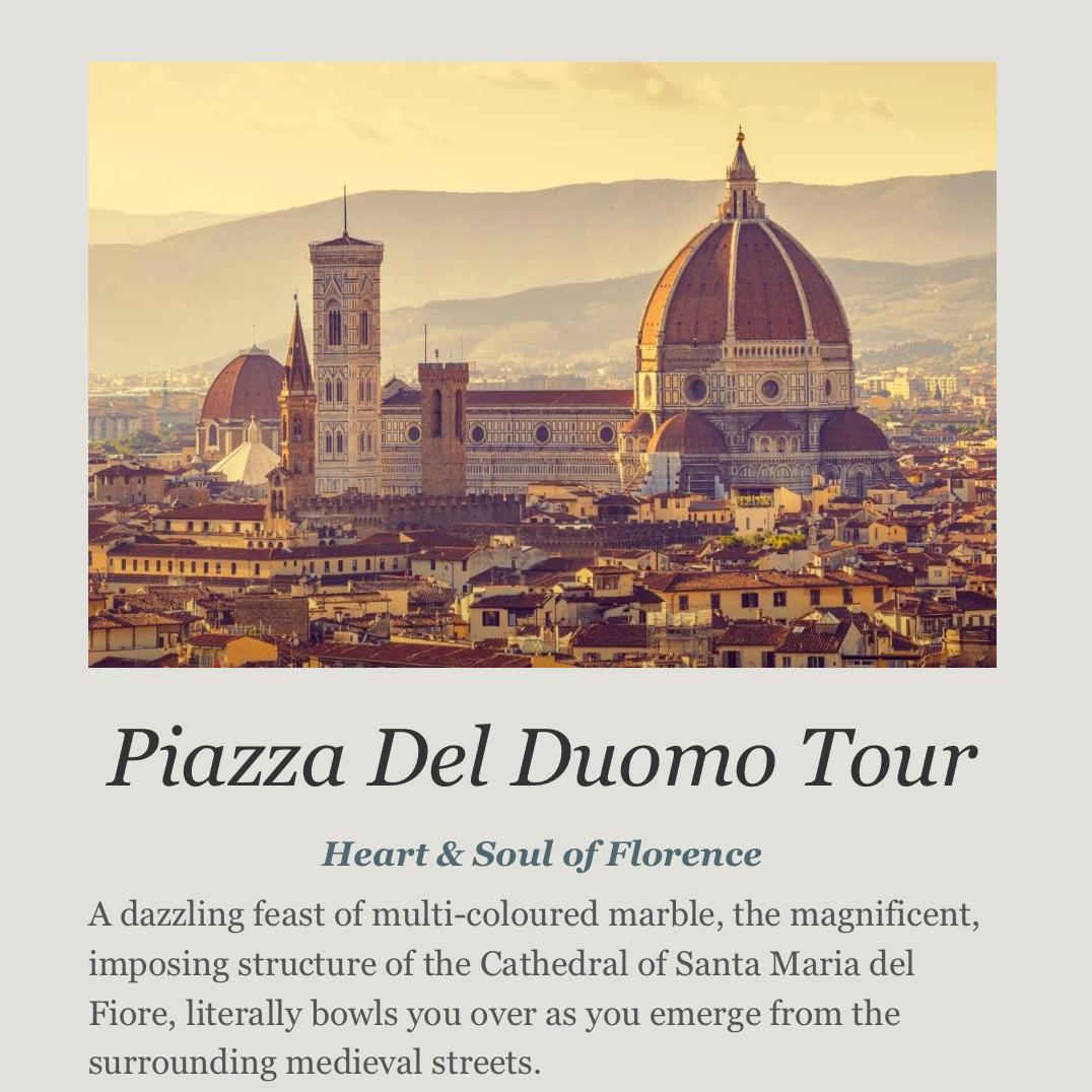 Piazza del duomo tour